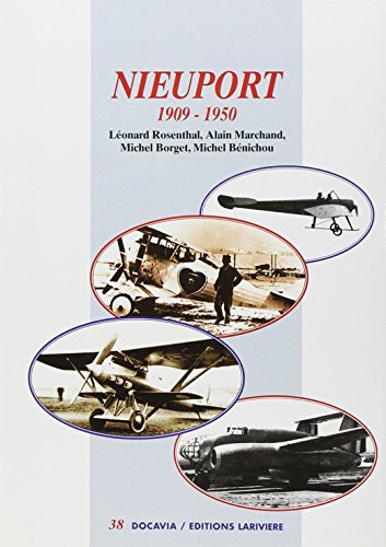 Les avions nieuport (French Edition) (2848900717) by Rosenthal