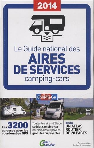 9782848901787: Guide national des aires de services 2014