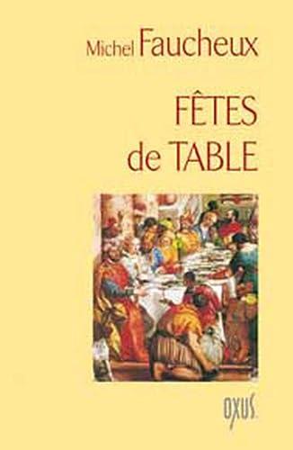 9782848981017: Fêtes de table