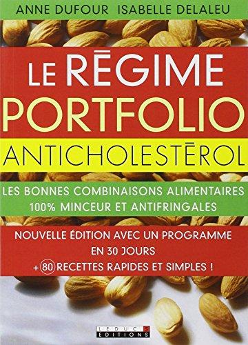 9782848995427: Le r�gime portfolio anticholest�rol
