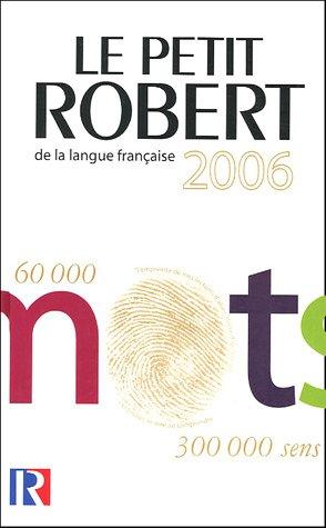 9782849020661: Le Petit Robert : Dictionnaire alphabétique et analogique de la langue française