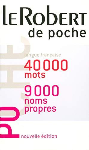 9782849022238: Le Robert De Poche (French Edition)