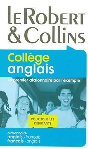 9782849022788: Le Robert & Collins Collège anglais : Dictionnaire français-anglais et anglais-français