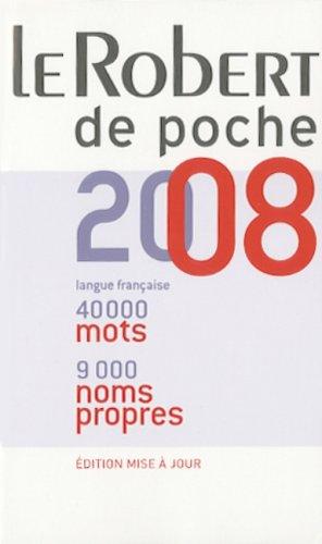 Le Robert de poche 2008 - Dictionnaire: Danià le Morvan