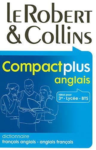 9782849023440: Le Robert & Collins Compact plus anglais : Dictionnaire français-anglais et anglais-français