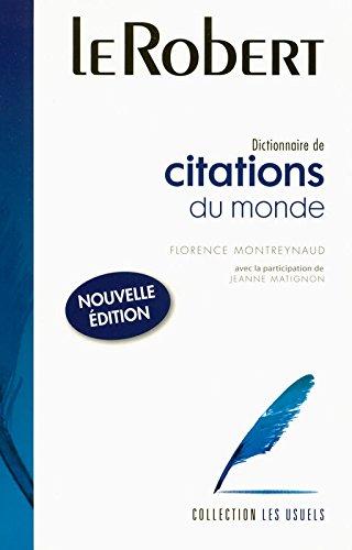 9782849024218: Citations Du Monde: Large Flexi-Bound Edition (Usuels - Flexi Bound) (French Edition)
