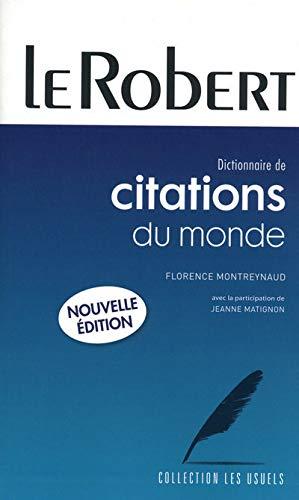 9782849024225: Citations Du Monde Entier: Paperback Edition (Usuels - PB) (French Edition)