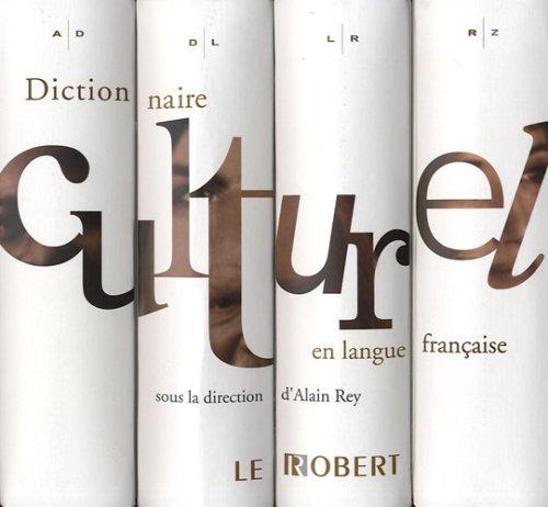 9782849024546: Dictionnaire culturel en langue française : Coffret en 4 volumes