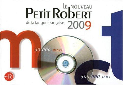 9782849024782: Le petit Robert 2009