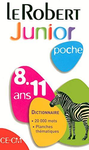9782849024850: Le Robert Junior Poche 2008 8-11 Ans (Dictionnaires Scolaires) (French Edition)