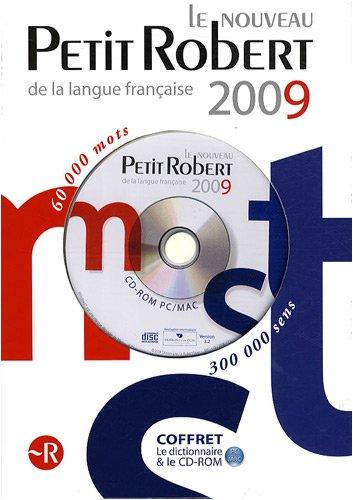 9782849026168: le nouveau petit robert de la langue Française 2009 CD-ROM PC/MAC