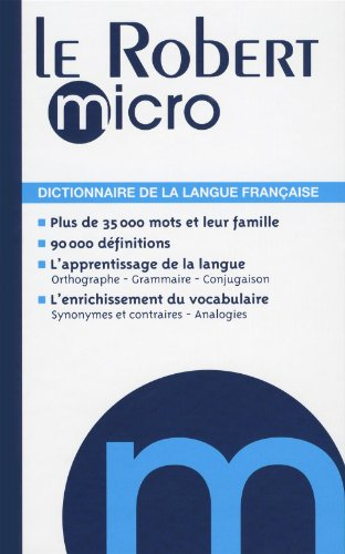 9782849026601: Le Robert Micro (Dictionnaires Generalistes) (French Edition)