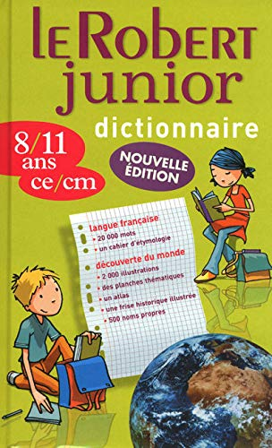 9782849027356: Le Robert Junior (Dictionnaires Scolaires) (French Edition)