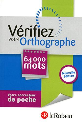 9782849028193: VERIFIEZ VOTRE ORTHOGRAPHE NE