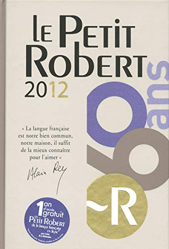 9782849028414: PETIT ROBERT LANGUE FSE 2012