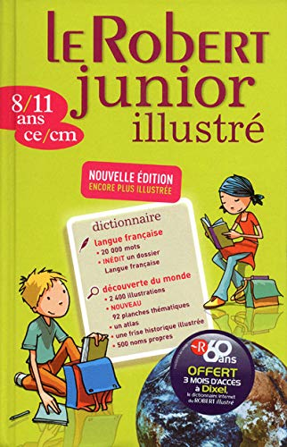 9782849028704: Le Robert Junior illustr� : 8/11 ans, ce/cm