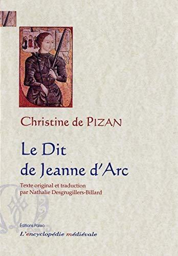 9782849095553: Le Dit de Jeanne d'Arc : Ditié Jehanne Darc, Manuscrit de Berne