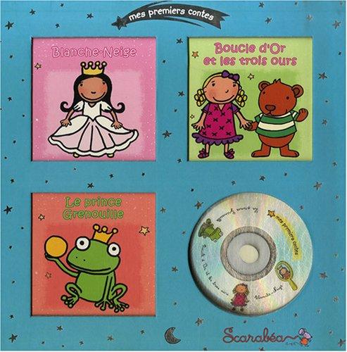 9782849140574: Mes premiers contes, coffret argent : Blanche neige; Boucle d'or et les trois ours; Le prince grenouille (1CD audio)