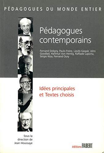9782849221280: Pédagogues contemporains