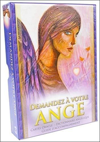 9782849332252: Demandez à votre ange : Cartes Oracle, Dictionnaire angélique, guide d'accompagnement