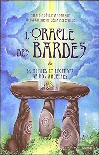 9782849335024: L'oracle des bardes : 36 mythes et légendes de nos ancêtres (Coffrets)