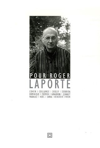 9782849380543: Pour Roger Laporte (French Edition)