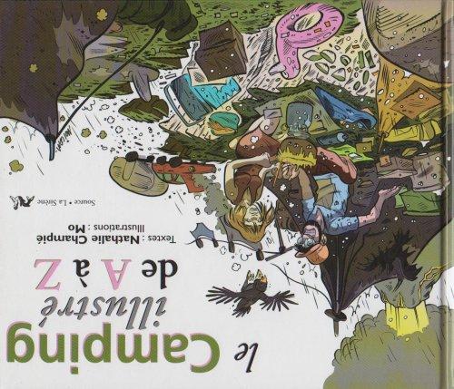 le camping illustré de A à Z: Collectif