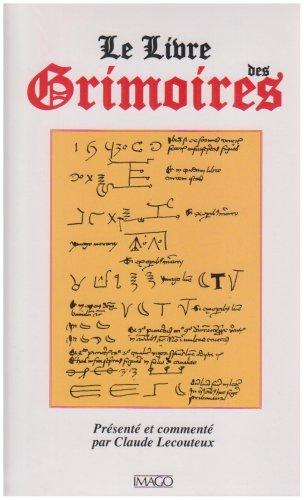 9782849520673: Le Livre des Grimoires : De la magie au Moyen Age