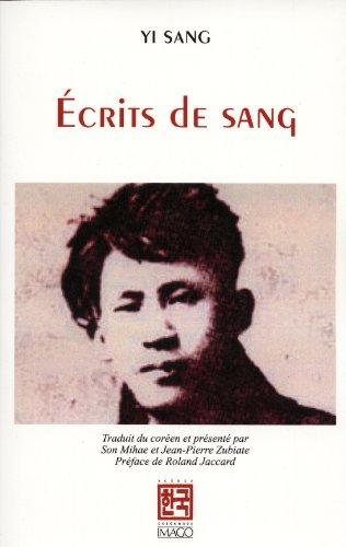 écrits de sang: Sang Yi