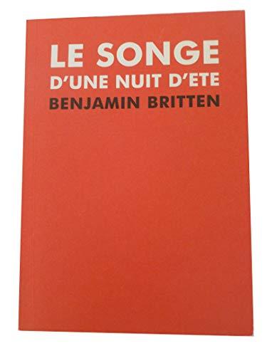 9782849560358: Le Songe D'une Nuit D'ete