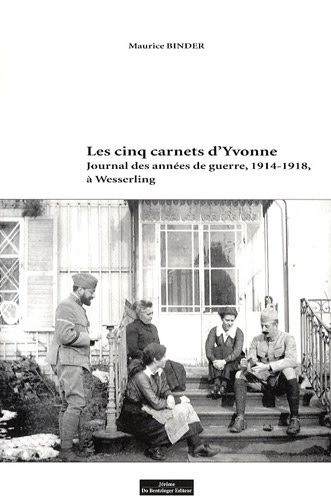 Les cinq carnets d'Yvonne (French Edition): Maurice Binder