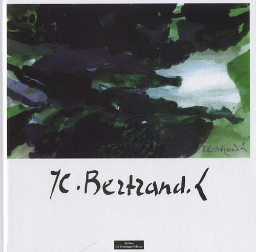 jc bertrand: Do Bentzinger Editeur