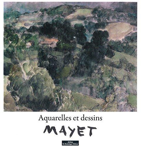 9782849605165: Mayet aquerelles et dessins