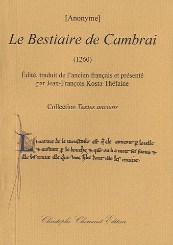 9782849621592: Le Bestiaire de Cambrai (1260)