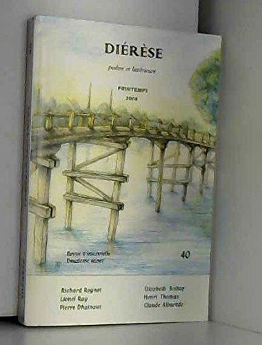 9782849910146: Diérèse : poésie et littérature