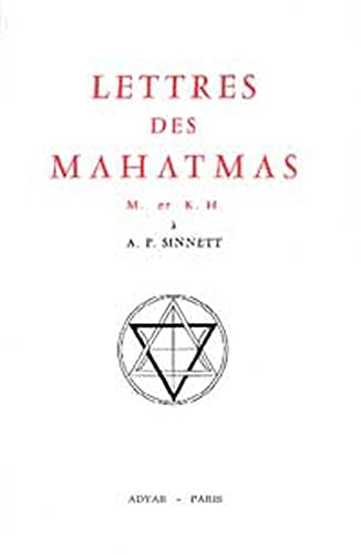 9782850001055: Lettres des Mahatmas