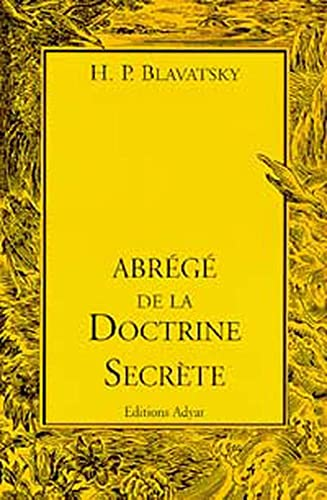 9782850001642: Abrégé de la doctrine secrète