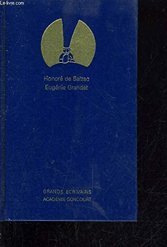 Eugà nie Grandet: Honorà de BALZAC