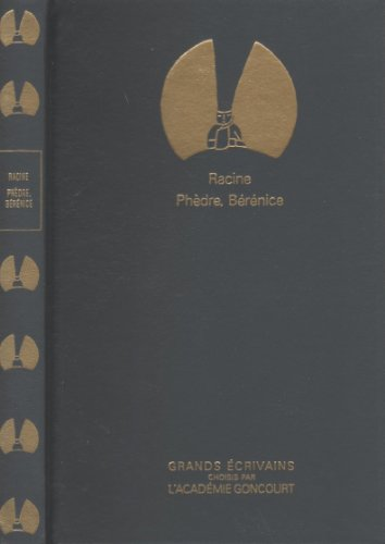 9782850184635: Phèdre suivi de Bérénice