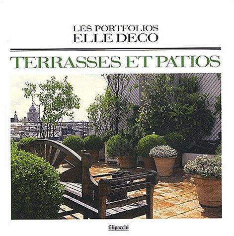 9782850186851: Portfolios Elle : Déco, térrasses & patios