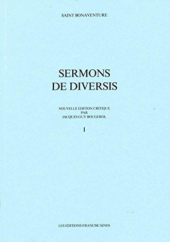 9782850203626: Sermons De Diversis