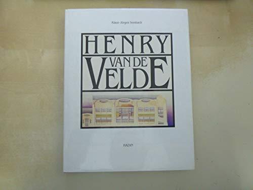 9782850252099: Henry van de velde