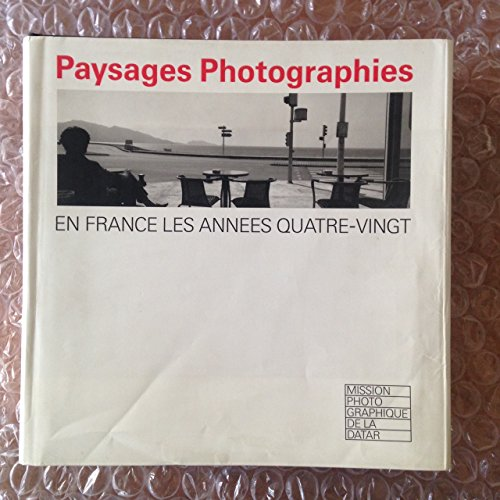 9782850252105: Paysages, photographies : 1984-1985