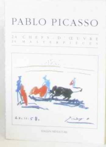 9782850252556: Pablo Picasso: 24 Masterpieces Postcard Book (Les Miniatures)