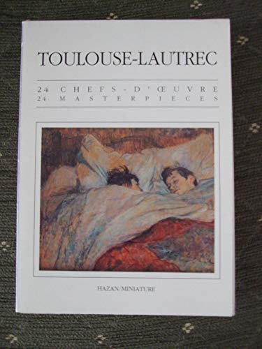 24 Masterpieces: Toulouse-Lautrec Postcard Book- In French: Claude Roger-Marx