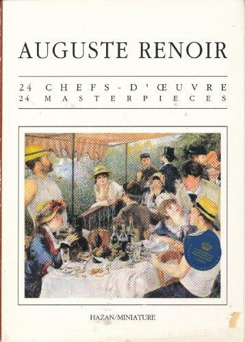 9782850252846: 24 Masterpieces: Auguste Renoir Postcard Book (Livrets CP)