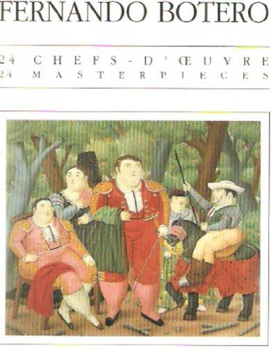 9782850252853: 24 Masterpieces: Fernardo Botero Postcard Book