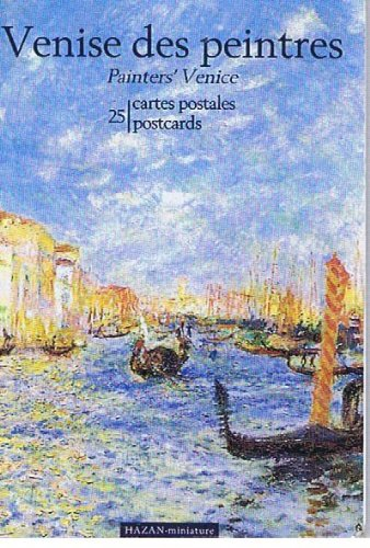 9782850254451: Venise DES Peintres 25 Postcards French (25 postcards Brand NEW)