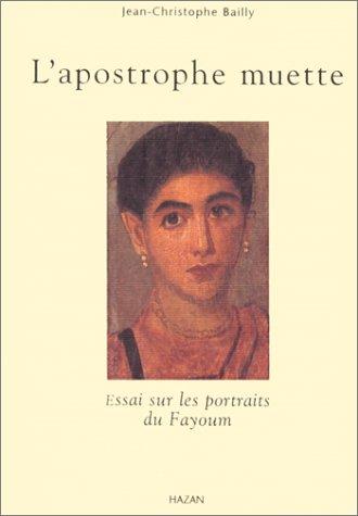 9782850256363: L'Apostrophe muette