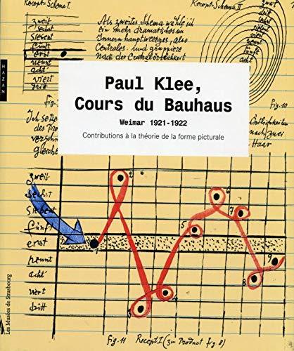 9782850259289: Paul Klee, cours du Bauhaus